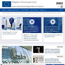 EU AND EASTERN EUROPE - The European Commission's Delegation to