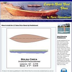 Spira International Inc - Bolsa Chica Stand-Up Paddleboard - SUP Plans