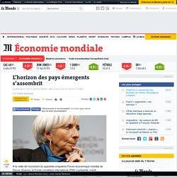Le Fonds monétaire international reste pessimiste sur la croissance mondiale