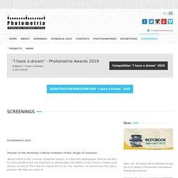 SCREENINGS, International Photography Festival