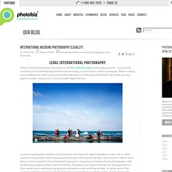 » International Wedding Photography [Legally]