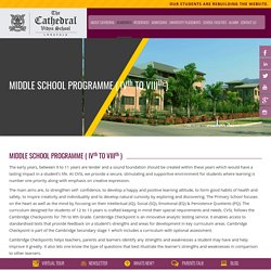 International School Pune - Middle School Programme - Coed Boarding Schools