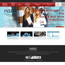 INSEEC - International Programs (BBA, Bachelor, MBA Programs)