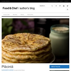 Food & Chef International Project: Author's Page
