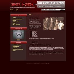 Shock Horror International, The web's premiere source for portable propaganda machines