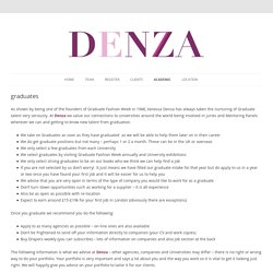 Denza – Luxury International Fashion Recruitment Specialists