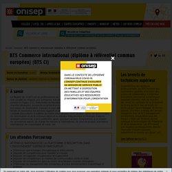 BTS Commerce international (diplôme à référentiel commun européen)