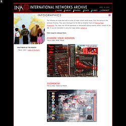 International Networks Archive \\ Remapping Our World
