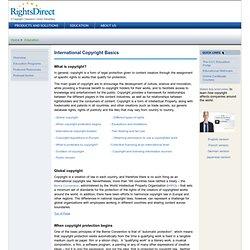 International Copyright Basics