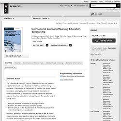 """Aesthetic Knowing within Nursing Evidence, Praxis and Theory"" by Julie Duff Cloutier, Craig Duncan et al."