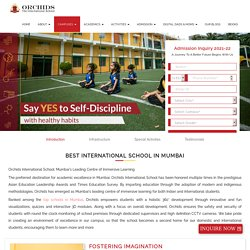 Best International Schools in Mumbai