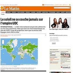 International: Le soleil ne se couche jamais sur l'empire UDC - Suisse