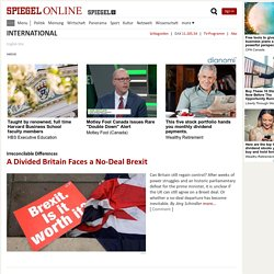 International - SPIEGEL ONLINE - News