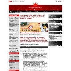 International Experience Canada voor Belgische staatsburgers – Reizen en werken in Canada