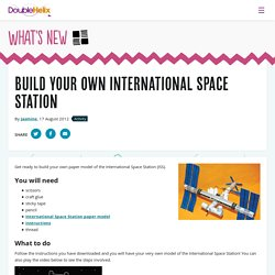 Build your own International Space Station - Double Helix