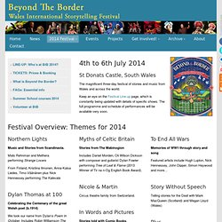 2014 Festival | Beyond The Border Wales International Storytelling Festival