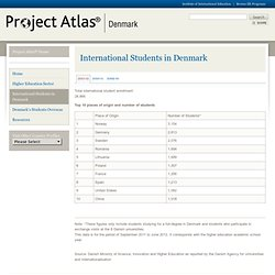 International Students in Denmark