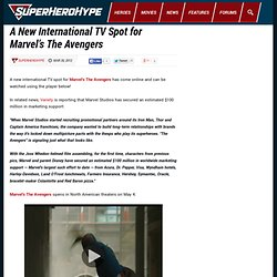 A New International TV Spot for Marvel's The Avengers