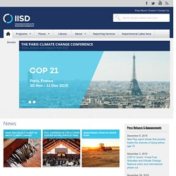IISD (International Institute for Sustainable Development)