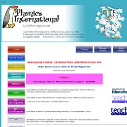 Phonics International-Phonics International - Online Synthetic Phonics ...