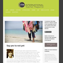 International Schools International Teaching Magazine
