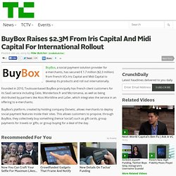 BuyBox Raises $2.3M From Iris Capital And Midi Capital For International Rollout
