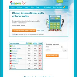 Calls over the Internet for free. Call from PC to mobile online. Free (cheap) international telephone and video calls.
