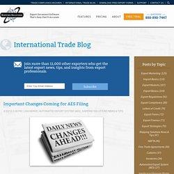 International Trade Blog