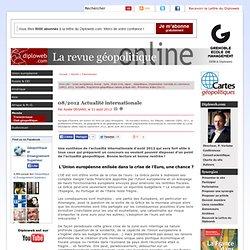 08/2012 Actualité internationale