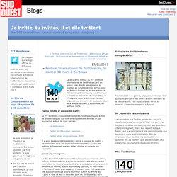 Festival International de Twittérature, le samedi 30 mars à Bordeaux