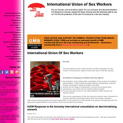 International Union of Sex Workers