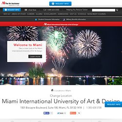 Miami Art and Design School - Miami International University of Art & Design
