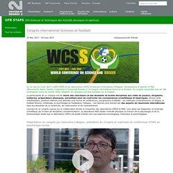 Congrès international Sciences et Football