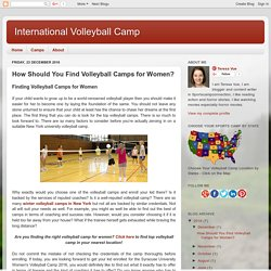 Syracuse University Women's Volleyball Camp 2016, Syracuse University Women's Volleyball Camp