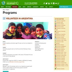 Volunteer Programs | International Volunteer HQ - StumbleUpon