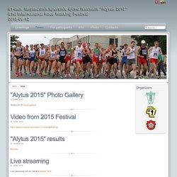 41th International Race Walking Festival, Alytus 2015 (LTU)