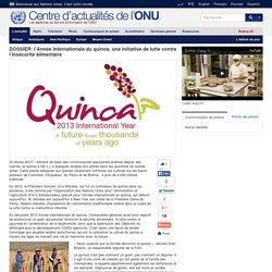 DOSSIER: l'Année internationale du quinoa, une initiative de lutte contre l'insécurité alimentaire