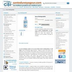 Santé du Voyageur - Boutique Voyages et Santé Internationale - Savon Biodégradable