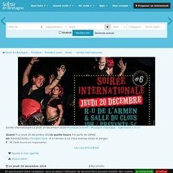 Soirée internationale Brest - 20-12-2018 19h00 - (Concert, Musique classique, Spectacle)