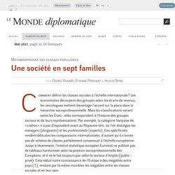 Comment définir les classes sociales à l'échelle internationale ?, par Cédric Hugrée, Etienne Pénissat & Alexis Spire (Le Monde diplomatique, mai 2017)