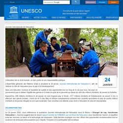 Journée internationale de l'éducation 24 janvier 2021