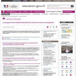 Le programme de mobilité internationale Jules Verne pour les enseignants