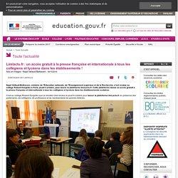 Lirelactu.fr : un accès gratuit à la presse française et internationale à tous les collégiens et lycéens dans les établissements !