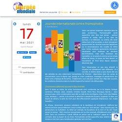 Journée internationale contre l'homophobie, le 17 mai