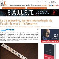 Le 28 septembre, journée internationale de l'accès de tous à l'information
