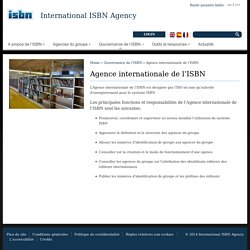 Agence internationale de l'ISBN