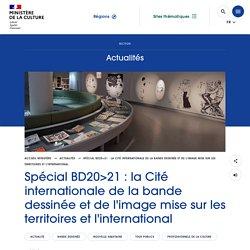Spécial BD20>21 : la Cité internationale de la bande dessinée et de l'image mise sur les territoires et l'international