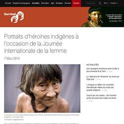 Portraits d'héroïnes indigènes à l'occasion de la Journée internationale de la femme