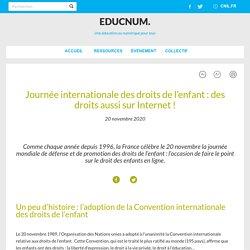 Journée internationale des droits de l'enfant : des droits aussi sur Internet !