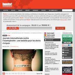 Journée internationale contre l'islamophobie : une bataille pour les droits civiques
